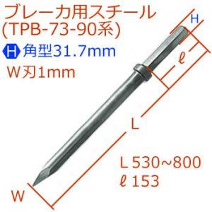 [H]31.7.4mmブレーカスチール
