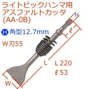 [H]12.7mmライトピック超小型アスファルトカッタ