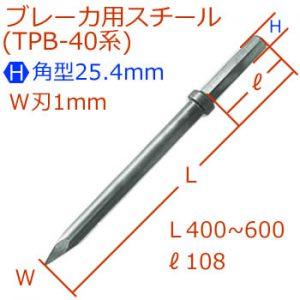[H]25.4mmブレーカスチール